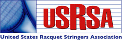 Logo of the Unites States Racquet Stringer's Association