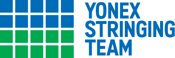 Logo for the Official Yonex Stringing Team